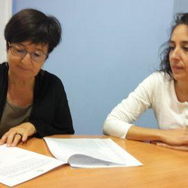 Signatura del Conveni Col·laboració amb Càritas Diocesana Barcelona