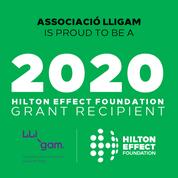 LligamDona i Hilton Effect Foundation's Grant 2020